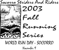 2003 Fall Running Series