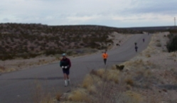 A shot of some of the runners on January 25th