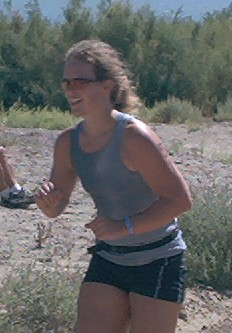 Petra on the run!